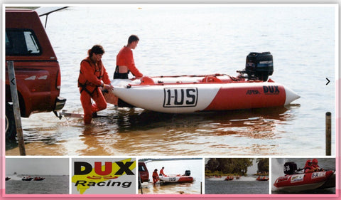 Super Light Inflatable Motor Boat with Tunnel Hull RD-400
