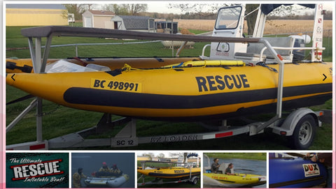 Rescue Inflatable Motor Boat DUX SRD-550