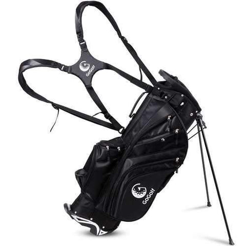 Hyper-Lite 6 Way Divider Golf Stand Cart Bag with Shoulder Strap