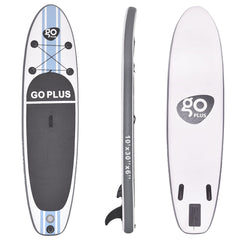 Goplus 10' Inflatable Stand Up Paddle Board SUP w/ 3 Fins (CW)
