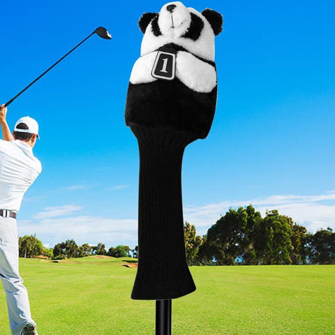 Golf club head covers Iron Putter Protective Head Cover HeadCovers Set soft fleece for 460CC No.1 Driver Wood Golf Accessories