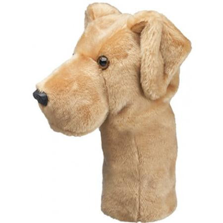 Yellow Lab Driver Head Cover