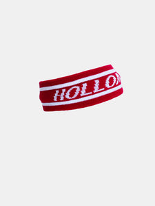 Red Holloman head band