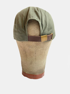 Holloman badge olive hat