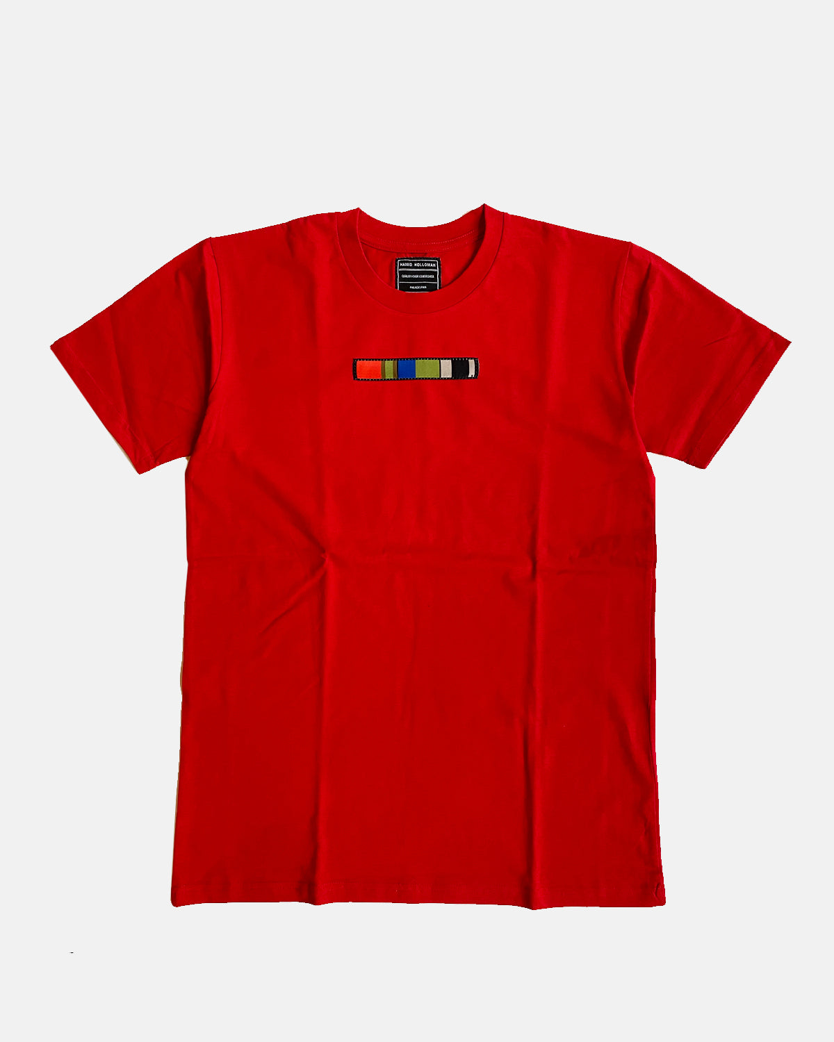 red code tshirt