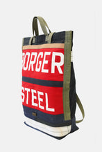 Steel tote bag