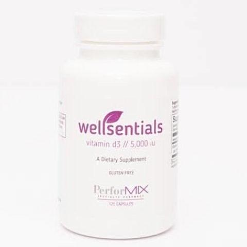 wellsentials vitamin d3//5,000iu