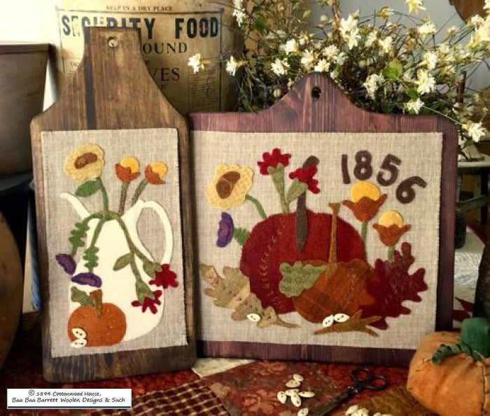 Autumn Grace Wool Applique Patterns