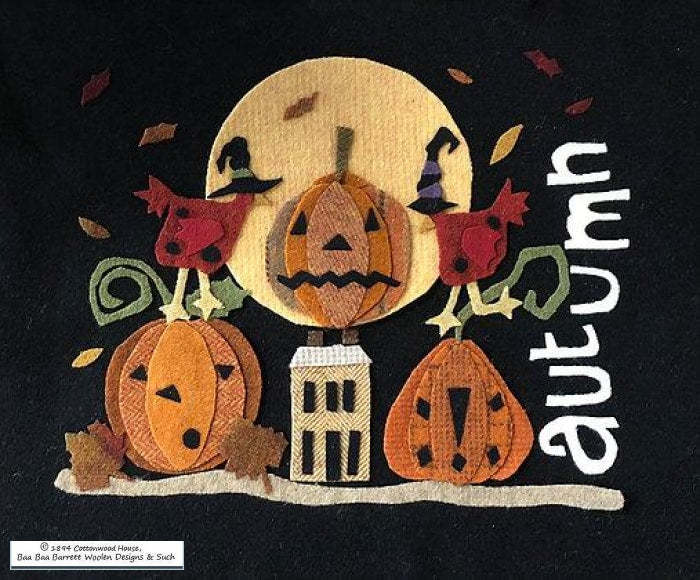 Cottonwood House Autumn Wool Applique Patterns
