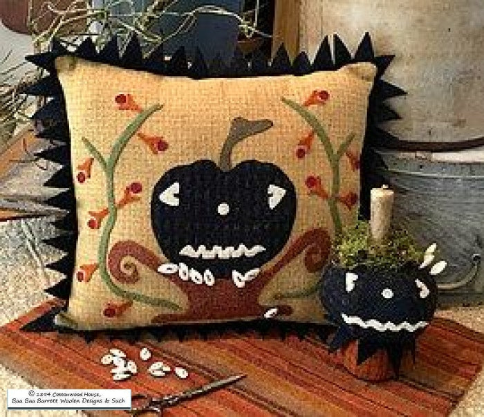 Jack-Be-Spooky Wool Applique Patterns