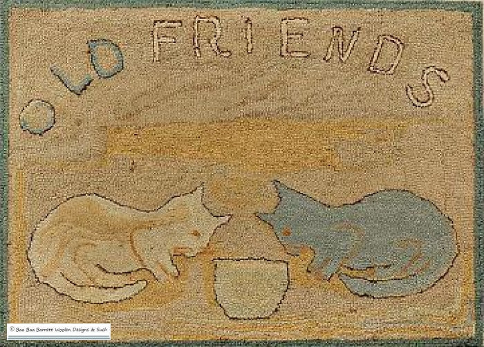Old Friends Rug Hooking Patterns