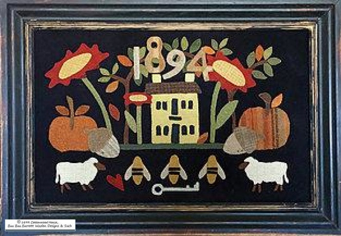 Our Cottonwood House Wool Applique Patterns