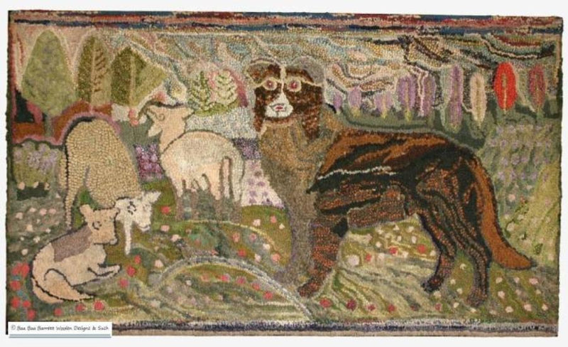 The Watch Dog Rug Hooking Patterns