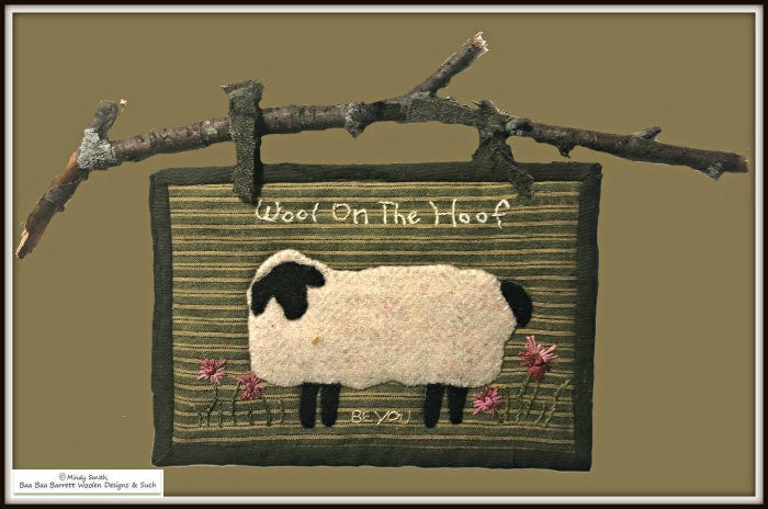 Wool On The Hoof - Petite Courette Series Kit Applique Patterns