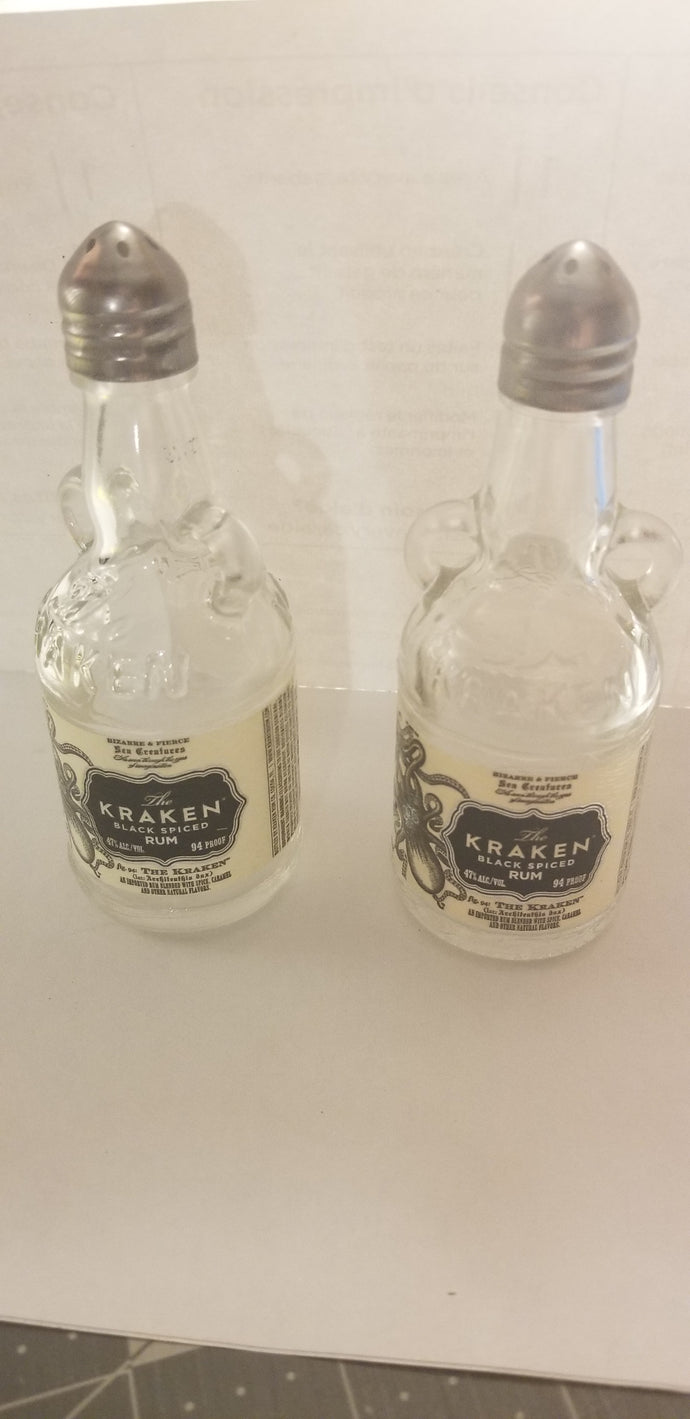 Kraken 50ml Salt and Pepper Shaker