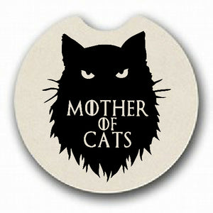 Mother of Cats Car Coaster