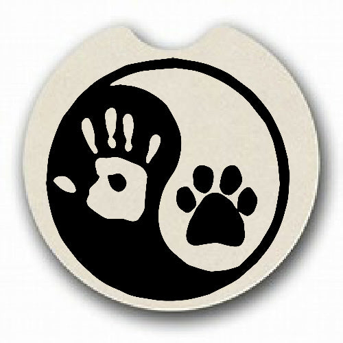 Ying Yang Human Pet Car Coaster