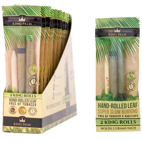 King Palms Pre-Roll King Size Pouch 2gram 24/Box