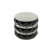 Black and Silver Aluminum Grinder – 3 stage – 50mm