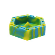 Silicone Hexagon Ashtray – 5""