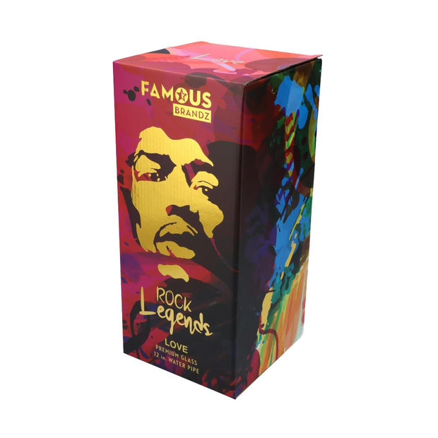 ROCK LEGENDS JIMI LOVE WATER PIPE 12 IN.