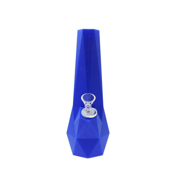 Silicone Water Pipe Diamond – 10""