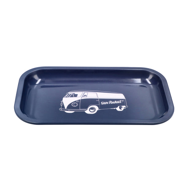 San Rafael-Bus Metal Tray-Blue-Medium