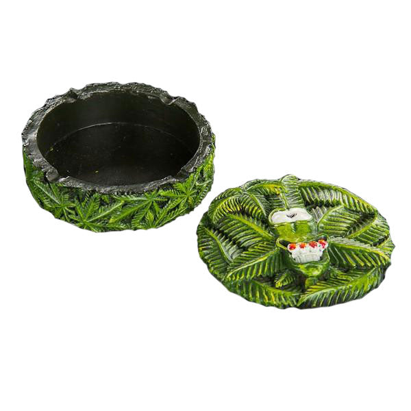 Ashtray Canabud with Lid