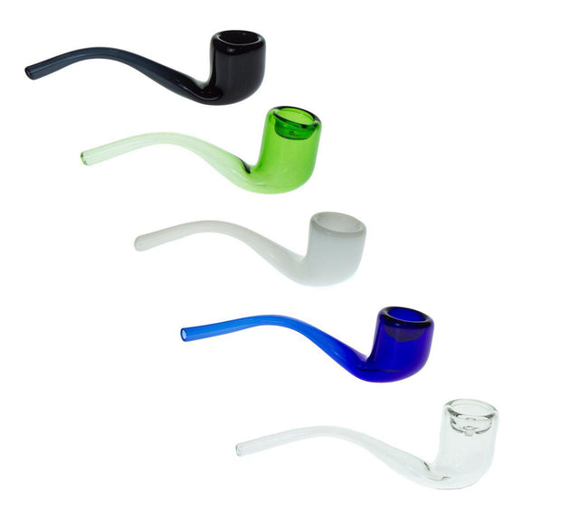 Mini Curved Glass Pipe