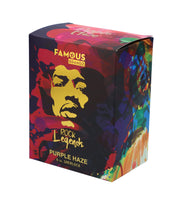 Rock Legends Jimi Purplehaze Sherlock Pipe White 6 in.