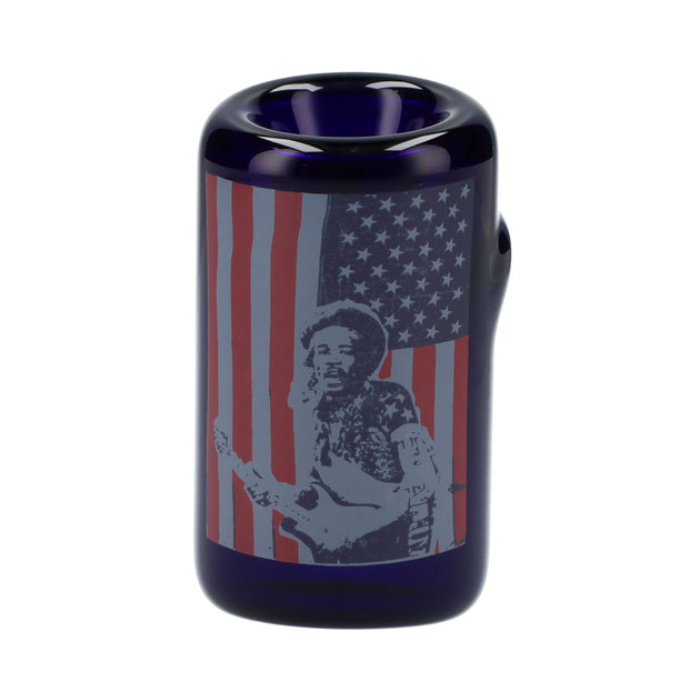 Rock Legends Jimi USA Sherlock Pipe Blue 6 in.