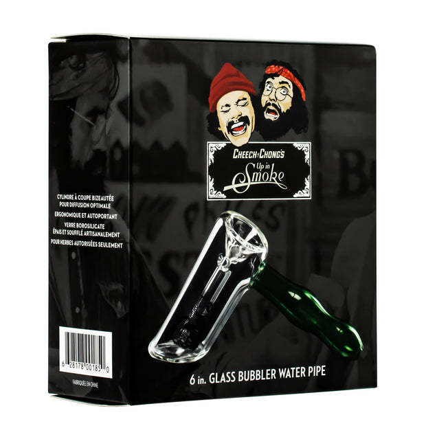 CHEECH & CHONG FAMOUS X  5 IN STRAIGHT BUBBLERS