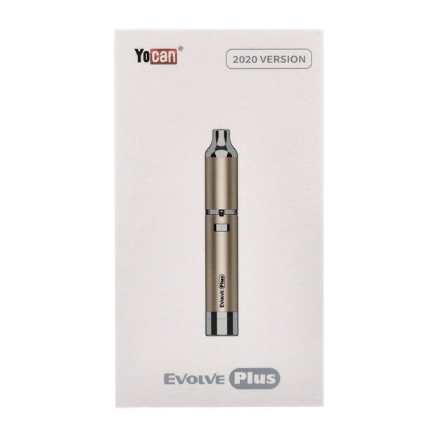 Yocan-Evolve Plus Kit (Atomizer Coil Cap Battery)-Champagne Gold