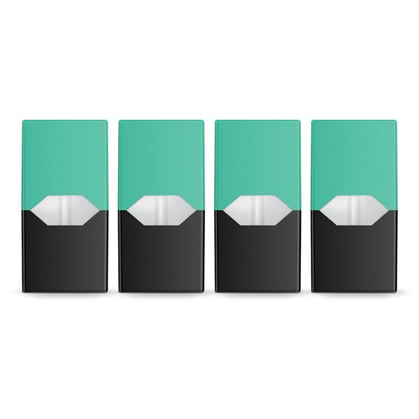 "E-Juice PODS for Juul ""Cool Mint"" 50mg Salt Nic"