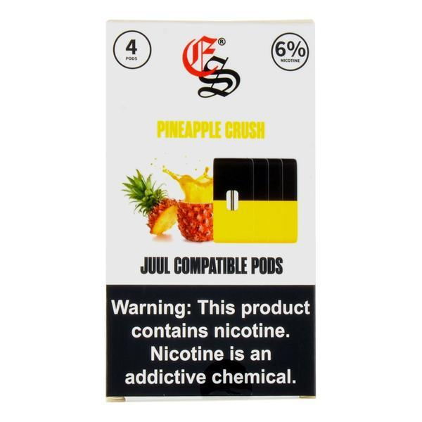 E-Juice PODS Eon Smoke Juul Compatable Pineapple 6% 4/Pack