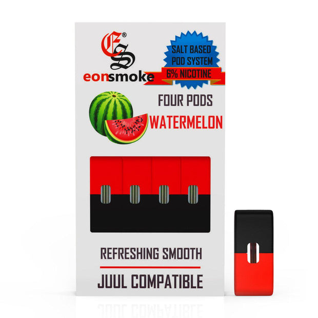 E-Juice PODS Eon Smoke Juul Compatable Watermelon 6% 4/Pack