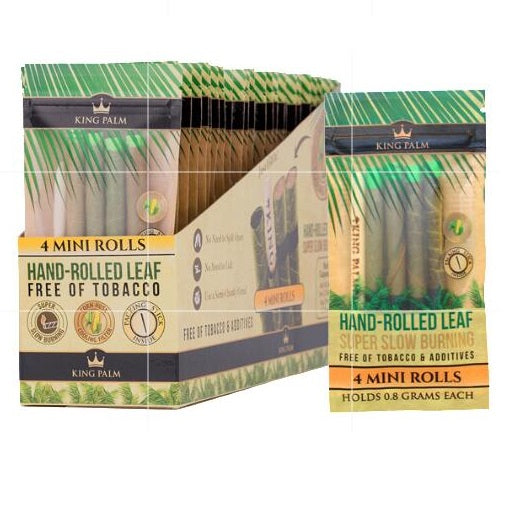 King Palm Pre-Roll Mini Pouch 0.8 gram 24/Box