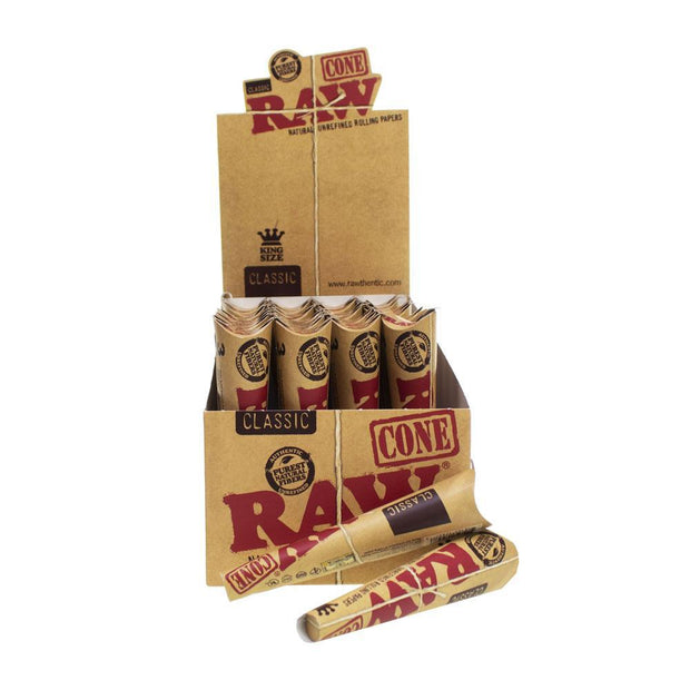 Cones Raw King Size 3/pkg 32/box