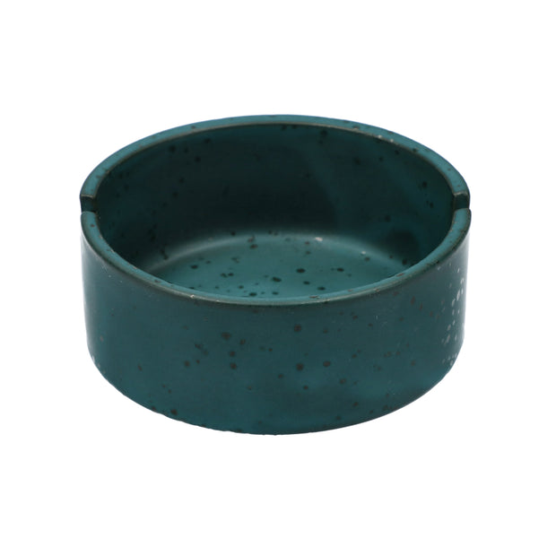 Ceramic Ashtray – [Sapphire/Copper/Matte Black] – 3.5""