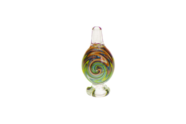 Globe Carb Cap with Zig Zag Spiral Design