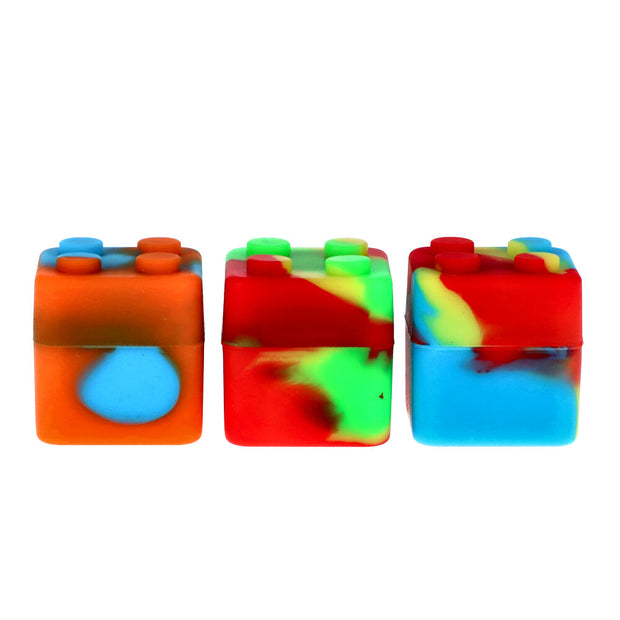 Budder Buddy Silicone Container 7ml, 3pcs Per Pack