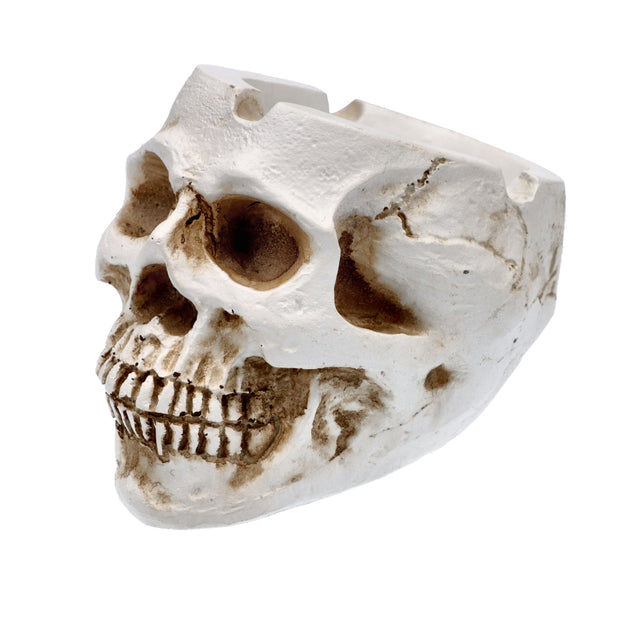 Resin Classic Skull Ashtray