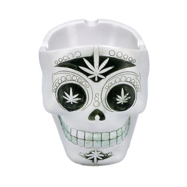 Resin Skulls Ashtray-Assorted