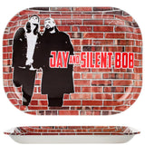 Jay and Silent Bob Wall Rolling Tray