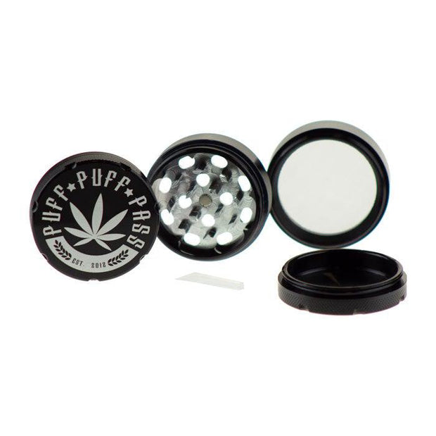 3 Stage Puff Puff Pass Grinder 50MM CNC Aluminum