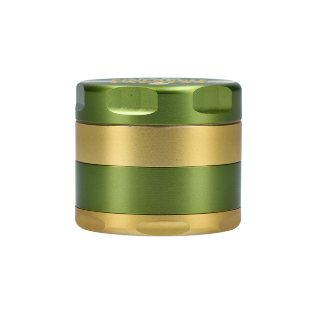 Puff Puff Pass Strain Pineapple Express 3 Stage Grinder Green and Yellow 55mm