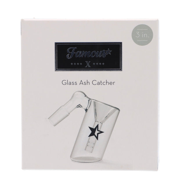 Famous X 3 Inch Glass Ash Catcher