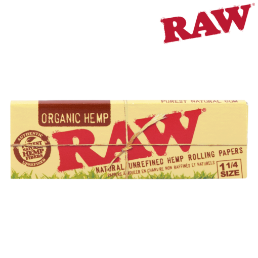 Rolling Papers Raw Organic 1/4 24/box