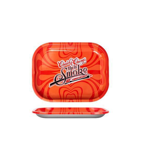 40TH ANNIVERSARY TRAY RED