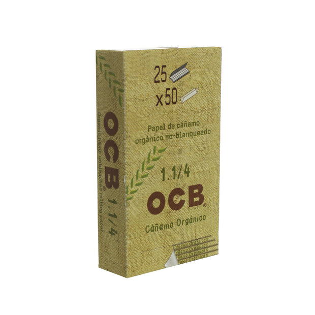Rolling Papers OCB Organic 1 1/4 25 Pack